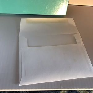 Tiffany & Co. Bags - Long Flat Gift Box W/Envelope Unused